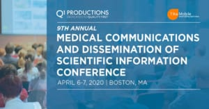 TikaMobile attending the 9th Annual Medical Communications and Dissemination of Scientific Information Conference